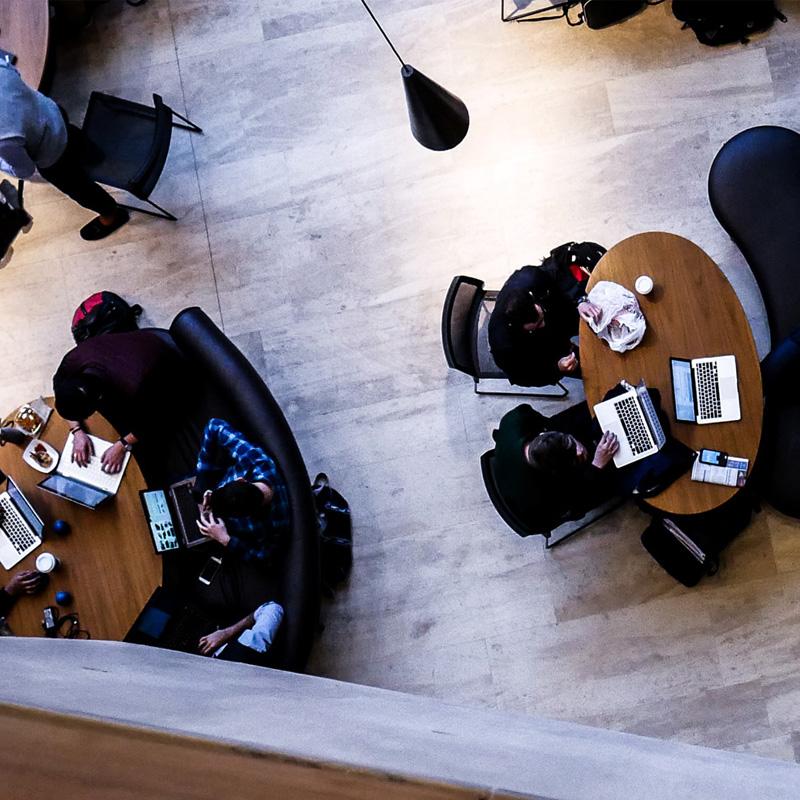 veilige en stabiele wifi in bedrijfsverzamelgebouw
